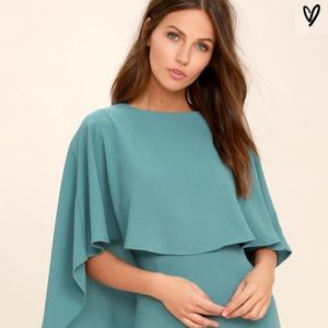 Best Is Yet To Come Turquoise Backless Dress